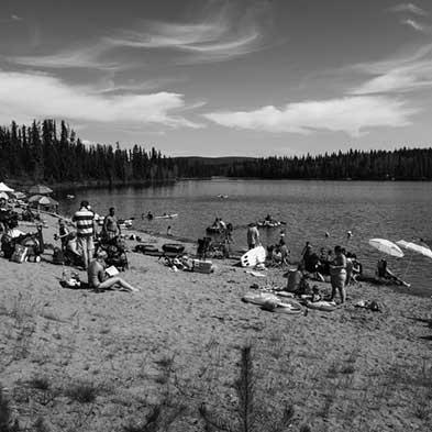 Lake in Prince George, BC