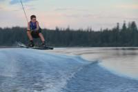 Wakeboarding at Cluculz Lake