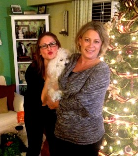 Mel and her mom