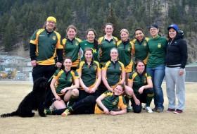 UNBC women's rugby team