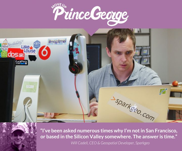 Will's testimonial about operating a virtual business in Prince George