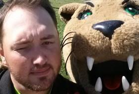 Dan and Rowdy Cat