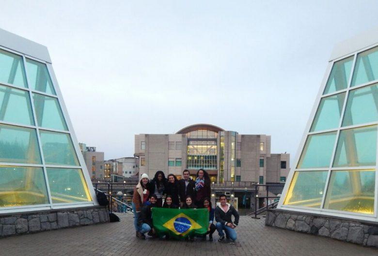 Fatimat and friends at UNBC