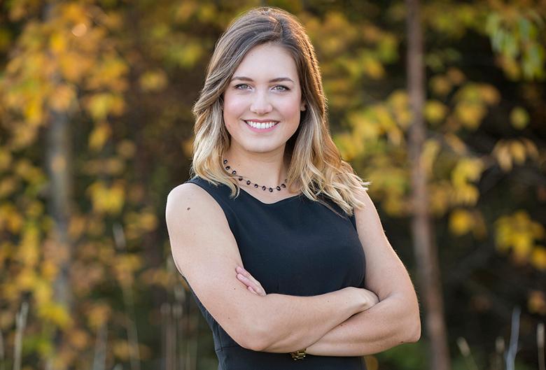 Top 40 Under 40 finalist Haylee Seiter