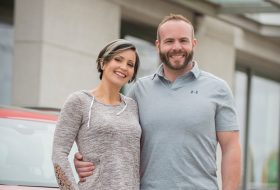 Top 40 Under 40 finalists Rich and Sarah Schleich