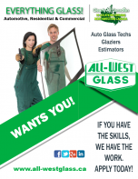 Project Coordinator / Estimator (with glass experience) Job in Prince George by All-West Glass