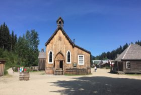Church at Barkerville historic site