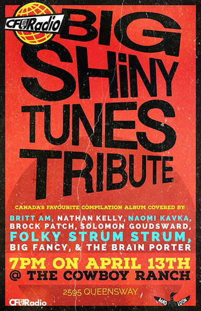 big shiny tunes tribute poster