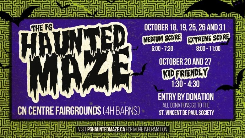 haunted maze poster