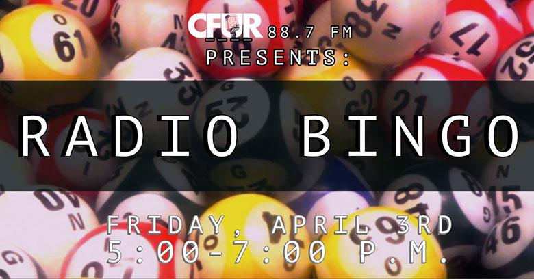 Radio bingo poster