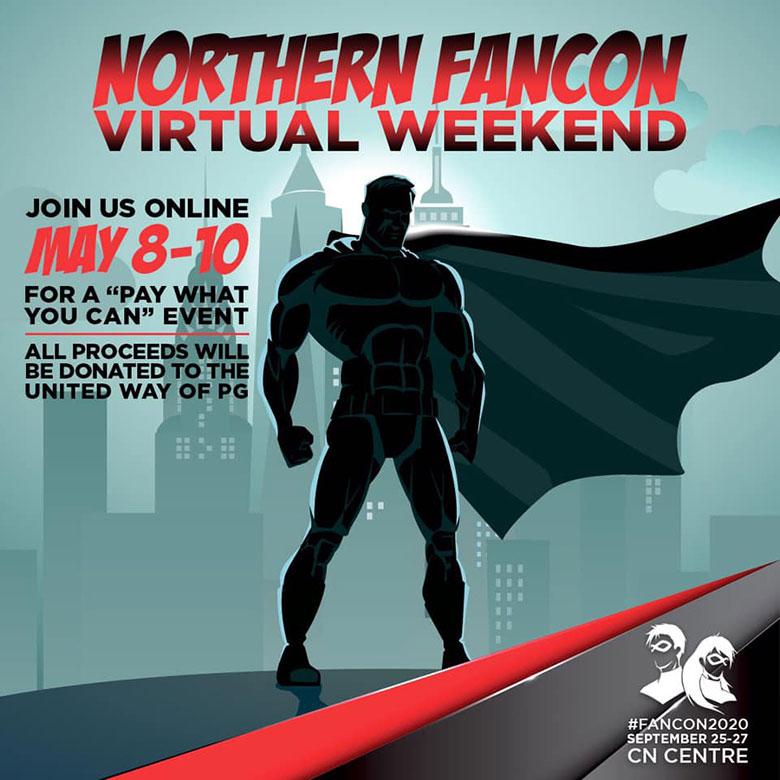 Northern FanCon Virtual Weekend poster