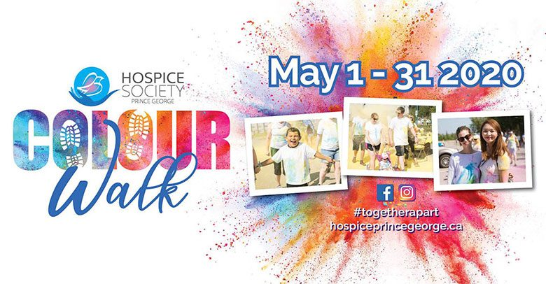Hospice Society Colour Walk poster