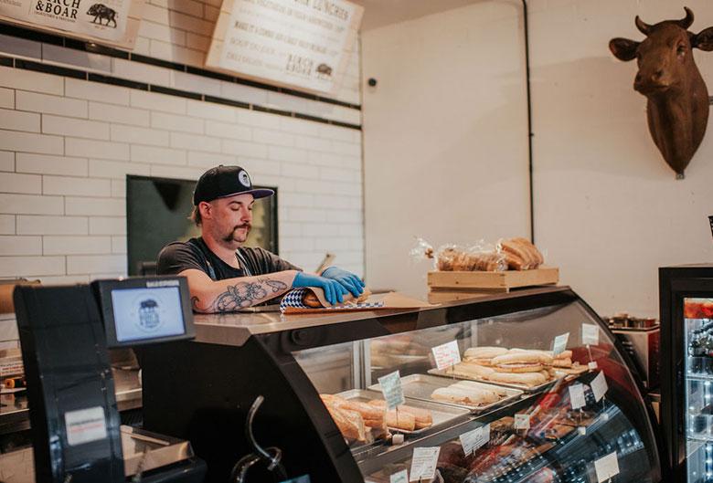 Birch and Boar sandwich maker