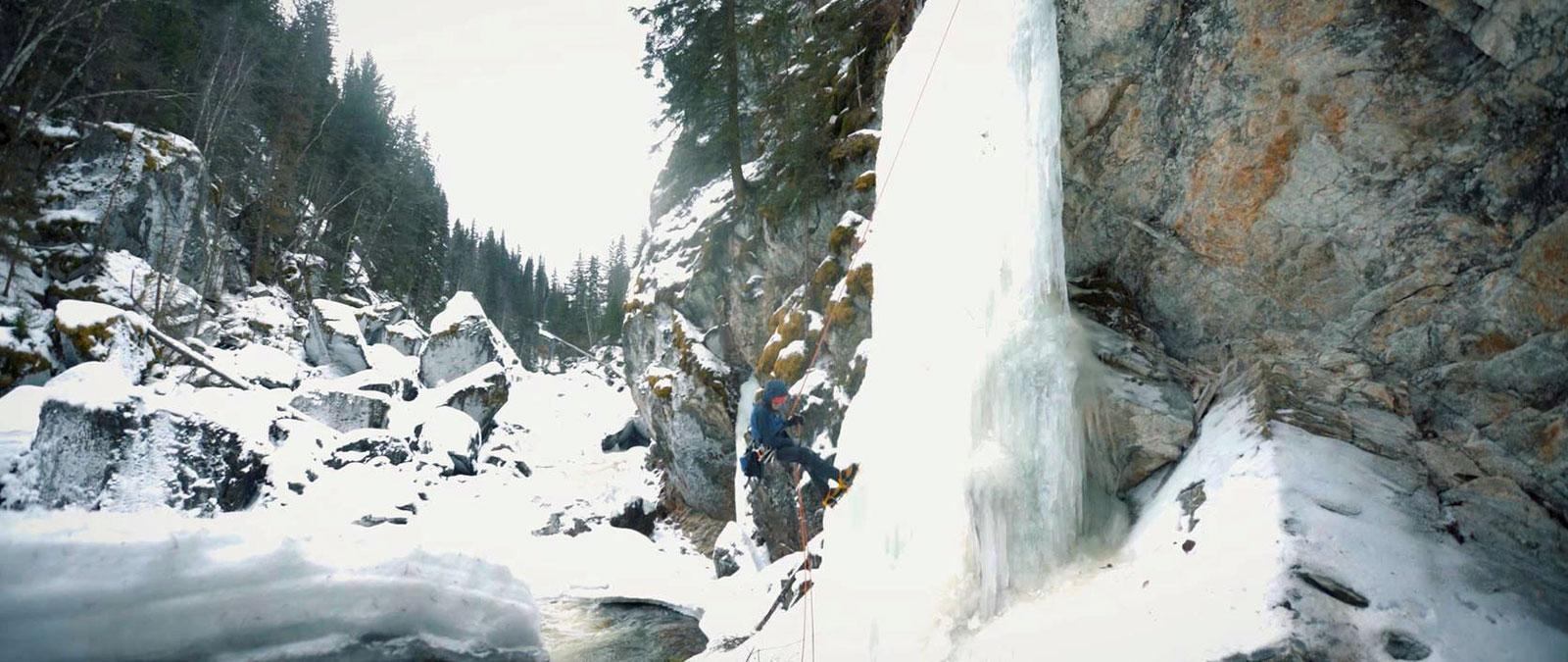 kenclimbingwaterfall