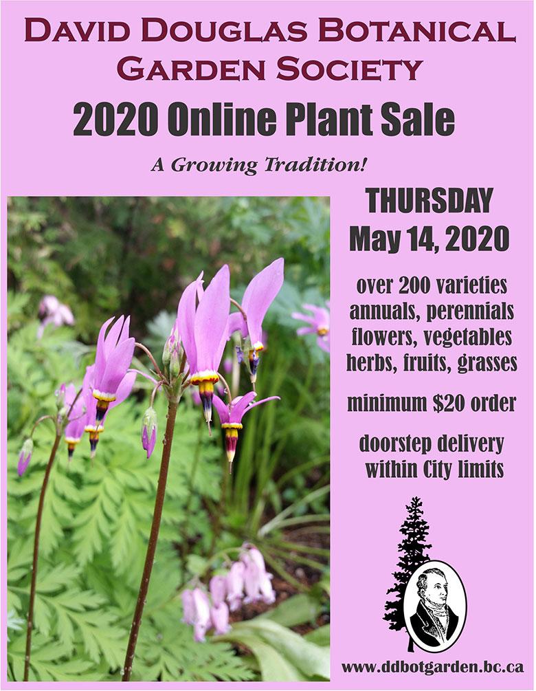 Online plant sale poster