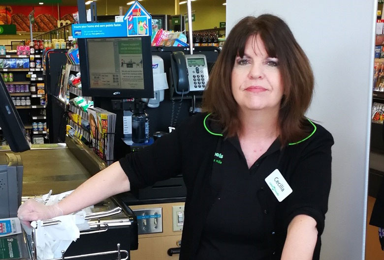 Cashier at Save On Foods