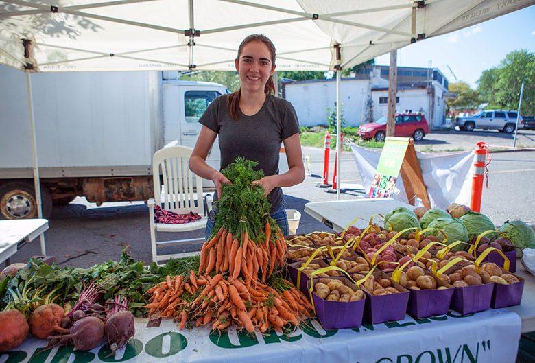 Farmers' Market vendor