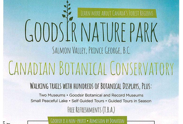 goodsir nature park poster