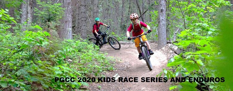 kids on bike trails