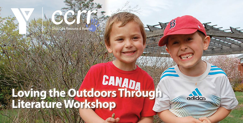 kids outdoors through literature workshop