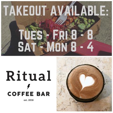 Coffee at Ritual Coffee Bar.