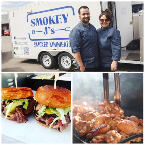 Smokey J's food truck.