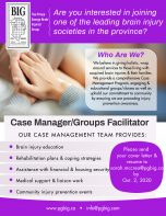 Case Manager/Groups Facilitator Job in Prince George by The Prince George Brain Injured Group