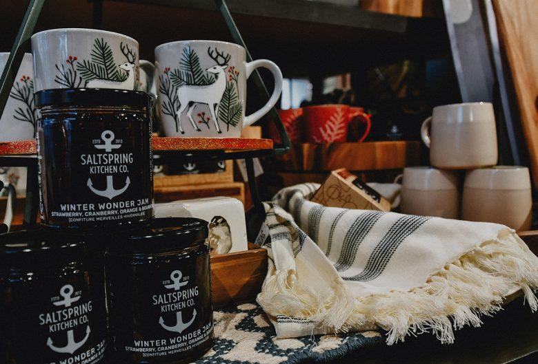 Mugs and other items at Van Horlick's.