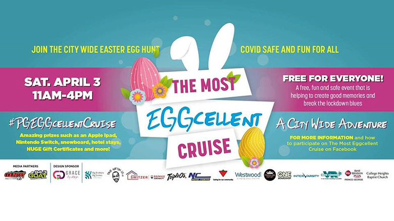 EGGcellent Cruise poster.