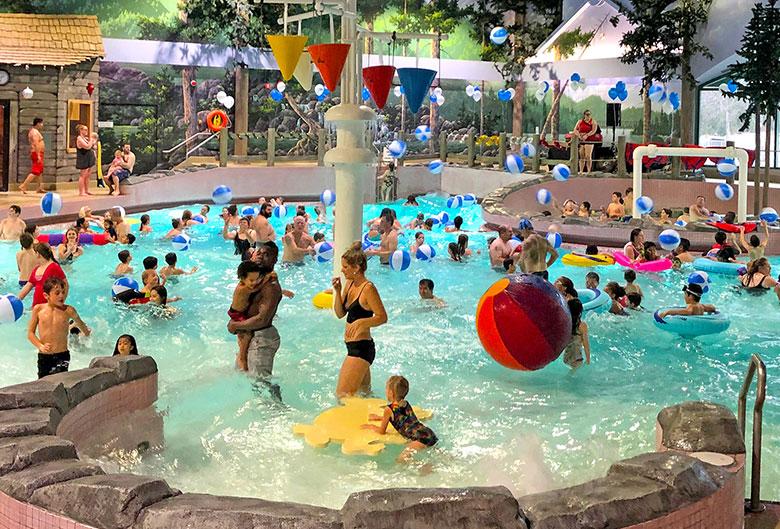 Aquatic Centre wave pool