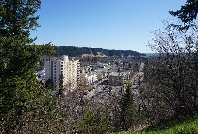 View of Prince George.